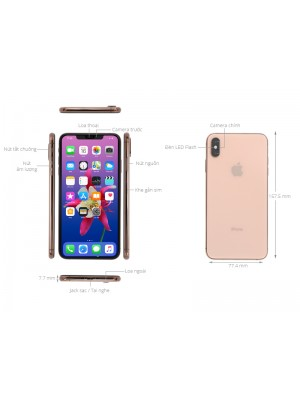 iPhone XS MAX Locked - 64GB